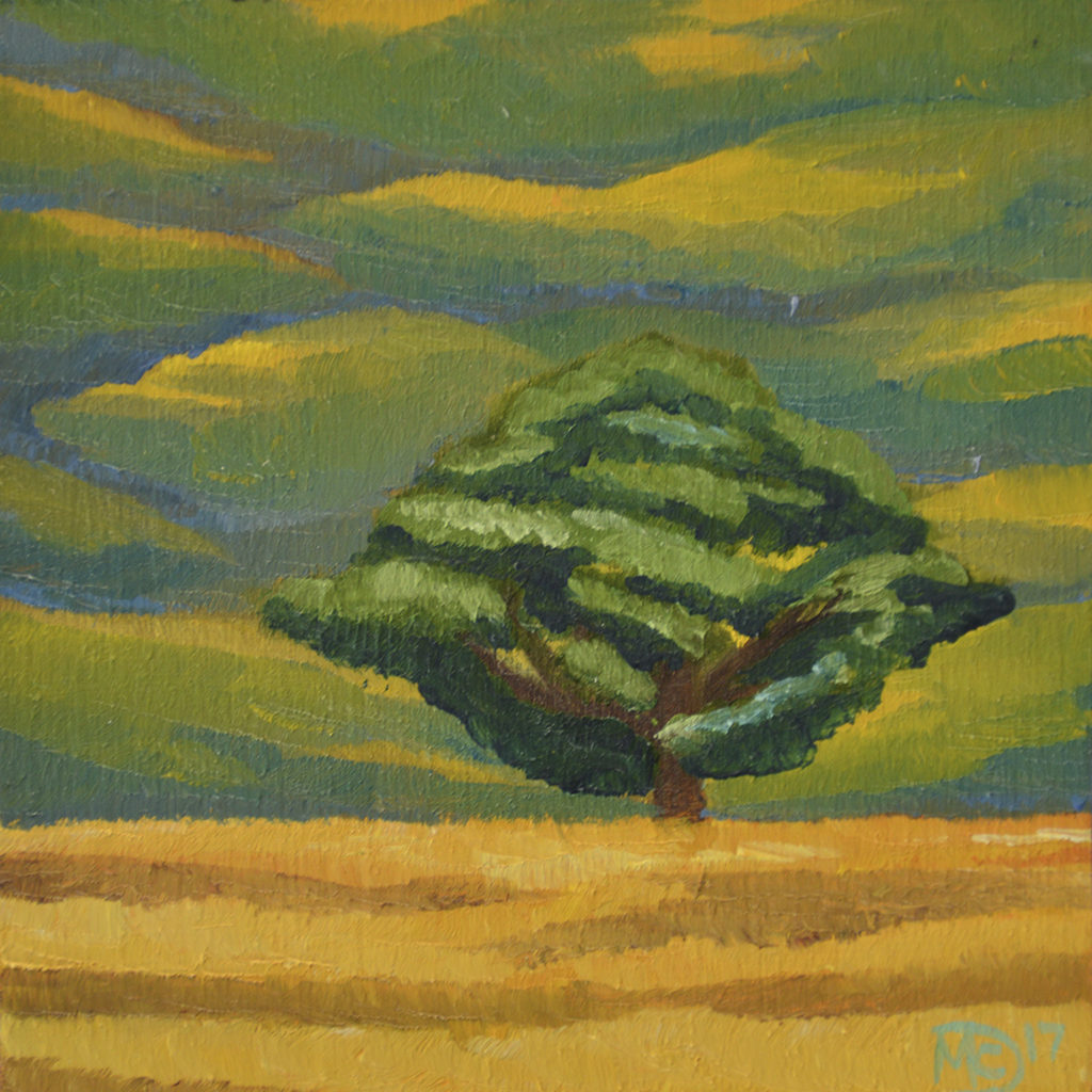gold-tree-field-painting