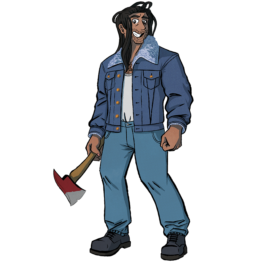 Jim Winters, Human Wronged Tabletop Character Commissions