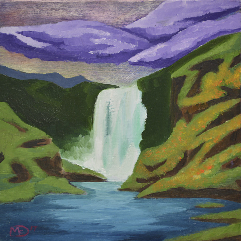 spray-waterfall-painting